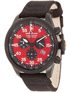 CX Swiss Military Hawk Nero Rawhide