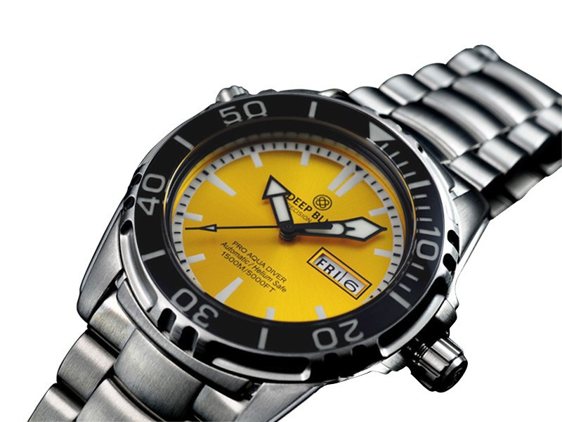DEEP BLUE PRO AQUA 1500 DIVING WATCH