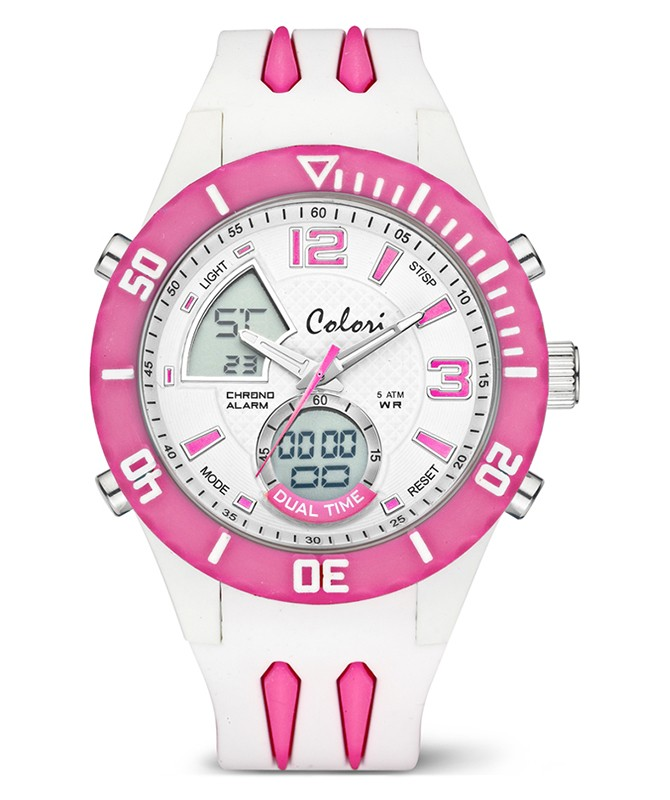 COLORI COOL FUSION ANADIGI SPORT WATCH 48mm
