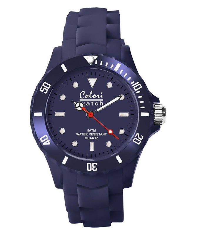 COLORI CLASSIC COLLECTION WATCH NAVY BLUE 40/44 MM