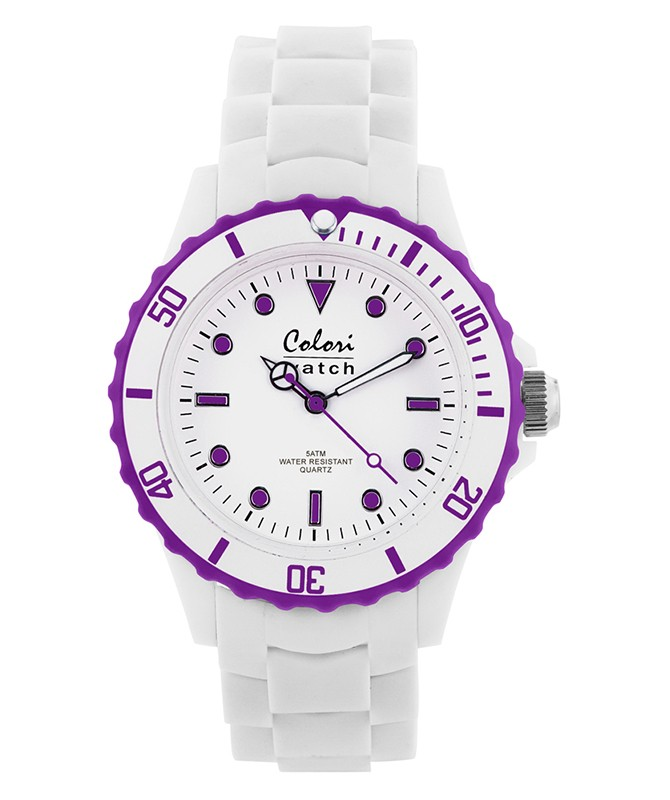 COLORI WHITE SUMMER WATCH 40