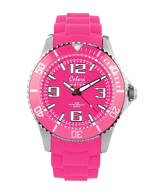 COLORI COOL STEEL METAL WATCH