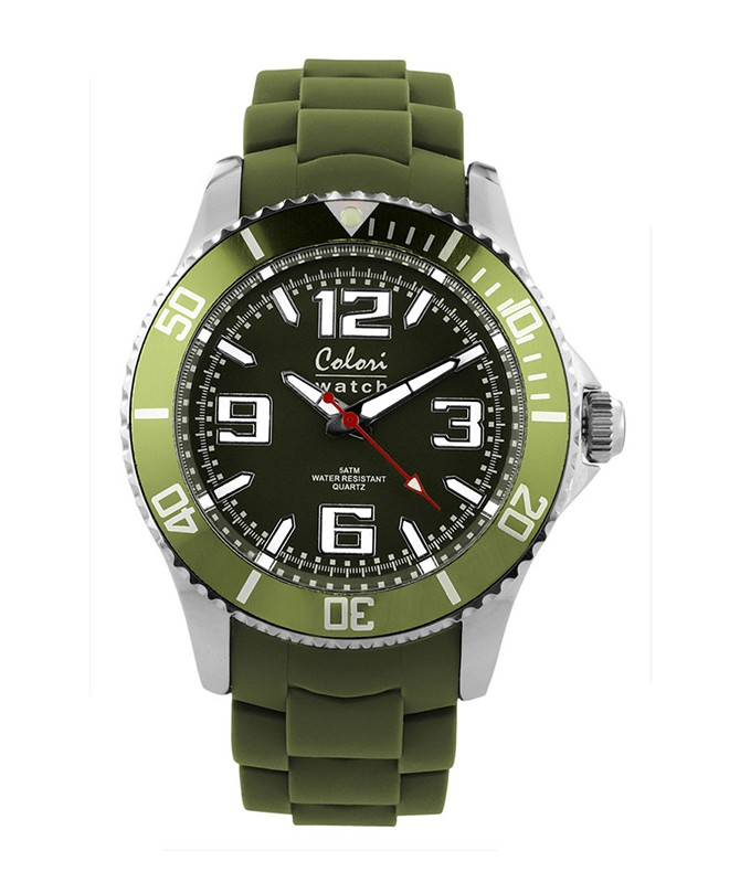 COLORI CLASSIC FASHION WATCH 50m WR LUMINOUS