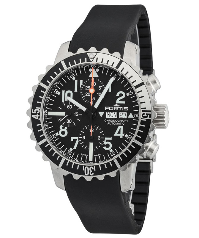 FORTIS Aquatis Marinemaster Chronograph Swiss Automatic watch 200m WR 671.17.41