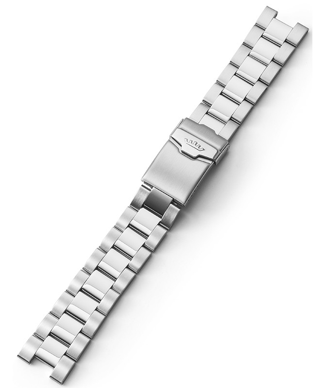 FORTIS Steel Bracelet with end pieces Cosmonaut bicolor Bru/Pol 99.314.21.401 M