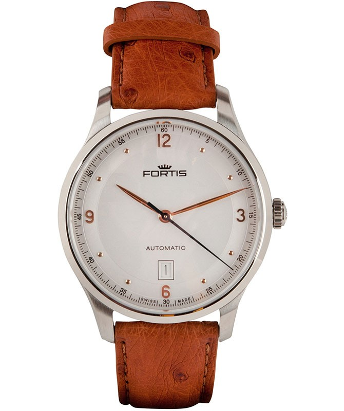 Fortis Terrestis Tycoon Date AM Classical/Modern Automatic Watch 903.21.12 L038