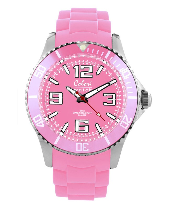 COLORI COOL STEEL MIYOTA QUARTZ STAINLESS STEEL LUMINIOUS DIAL