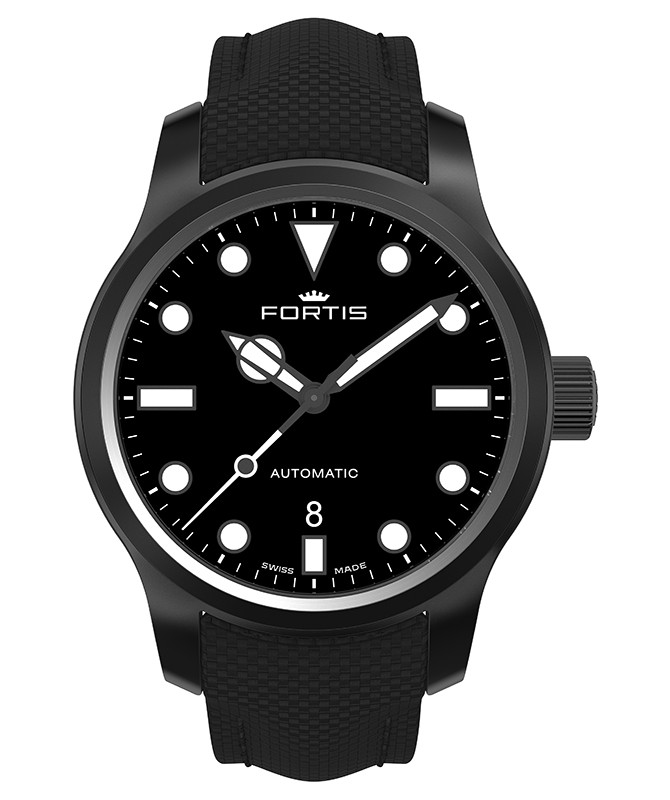 Fortis Aquatis SHORELINER LIGHTHOUSE 42mm PVD Swiss Auto Date watch 655.18.32