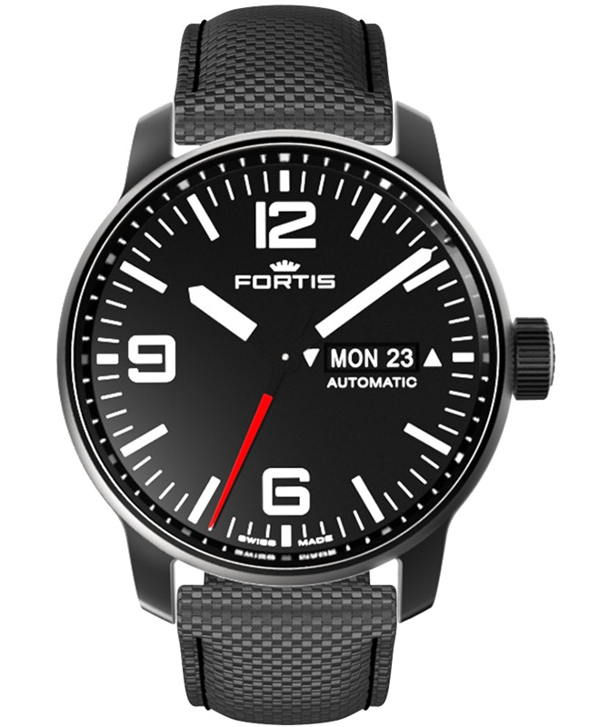 Fortis Cosmonautis SPACEMATIC STEALTH 40mm Automatic Swiss ETA watch