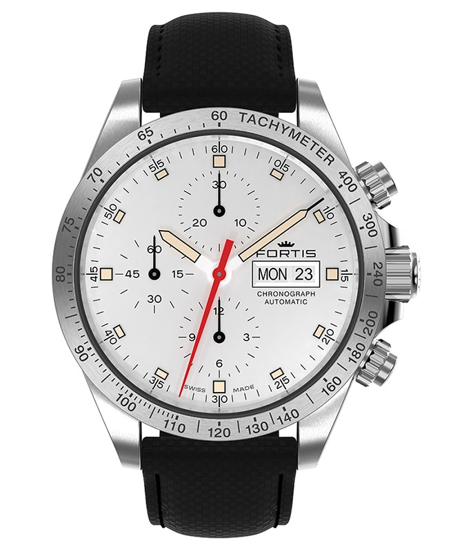 Fortis Cosmonautis STRATOLINER STEEL AM Automatic 42mm Chrono watch 401.21.32 (Default)Back Reset Delete Duplicate Save Save and Continue Edit
