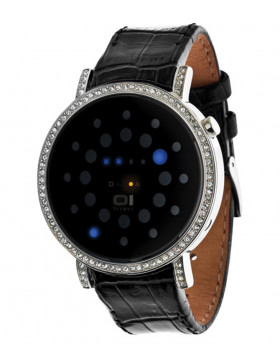 01 THE ONE ODINS RAGE COOL LED FASHION WATCH ORS502B1 SWAROVSKI CRYSTALS