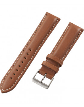FORTIS Leatherstrap Liberty Gold with pin buckle brushed 99.121.08.010