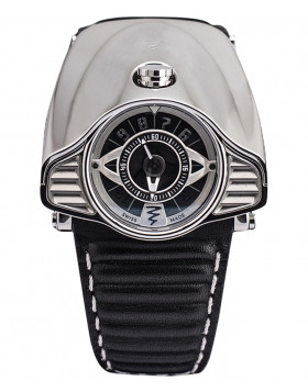 Azimuth GRAN TURISMO Motor Racing Theme Automatic Watch Polished S/Steel Bonnet