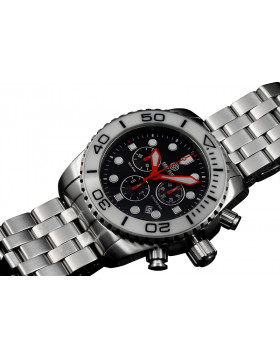 DEEP BLUE 45MM SEA RAM 500 CHRONOGRAPH 316L STAINLESS STEEL CASE