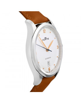 Fortis Terrestis Tycoon Date AM Classical/Modern Automatic Watch 903.21.12 L28