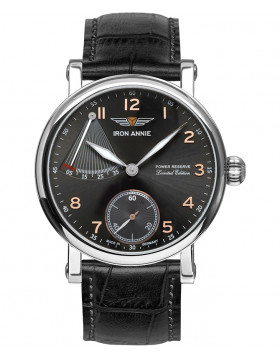 Iron Annie 30 Year Anniversary Watch Swiss ETA Hand Wind Anthracite Dial 5902-2