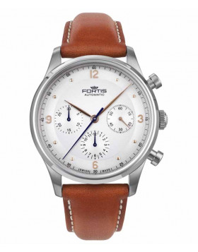 Fortis Terrestis Tycoon Chronograph AM Classical/Modern Auto Watch 904.21.12 L28