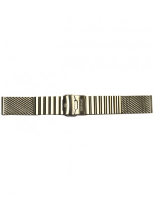 Deep Blue Stainless Steel Thick 'MESH' Bracelet for 24mm lug size