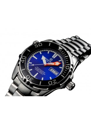 DEEP BLUE PRO AQUA 1500 DIVING WATCH AUTO DAY/DATE 45mm 1500m/5000ft WR BLUE DIAL