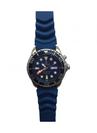 Deep Blue PROTAC 1000m Automatic Diver watch Seiko movt. 45mm Blk bez Blue dial