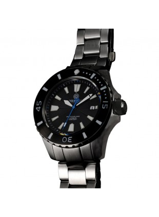 DEEP BLUE MASTER EXPLORER 1000 AUTOMATIC 316L STAINLESS STEEL CASE – BLACK DIAL