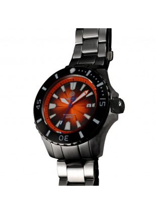 DEEP BLUE MASTER EXPLORER 1000 AUTOMATIC 316L STAINLESS STEEL CASE – ORANGE DIAL