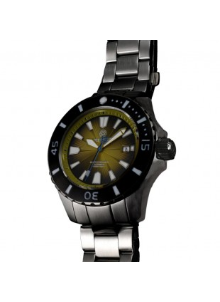 DEEP BLUE MASTER EXPLORER 1000 AUTOMATIC 316L STAINLESS STEEL CASE – YELLOW DIAL