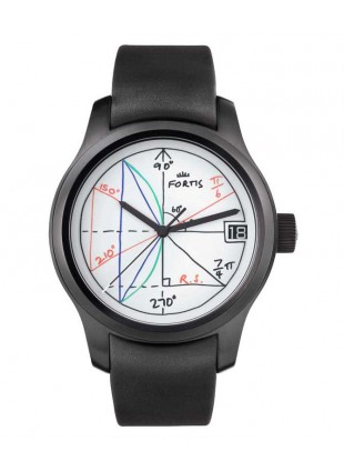 Fortis Terrestis 2PI Mathematics Inspired Auto Watch Art Edition 655.18.92 K
