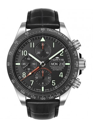 Fortis CLASSIC COSMONAUTS CHRONO ceramic pm Val 7750 movement 401.26.11 L01