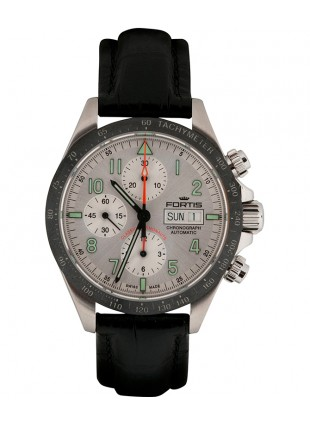 Fortis CLASSIC COSMONAUTS CHRONO ceramic am Val 7750 movement 401.26.12 LCI.01