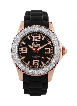 COLORI AMAZING ROSE COLLECTION WATCH 50M WR JAPAN QUARTZ