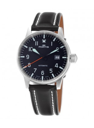 FORTIS FLIEGER DATE WATCH 200m WR SWISS AUTO INCABLOC SHOCK ABSORBER