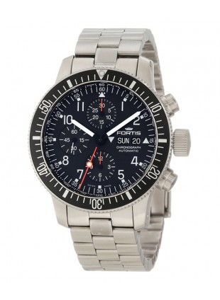 FORTIS B-42 OFFICIAL COSMONAUTS CHRONO 42MM CASE METAL BRACELET