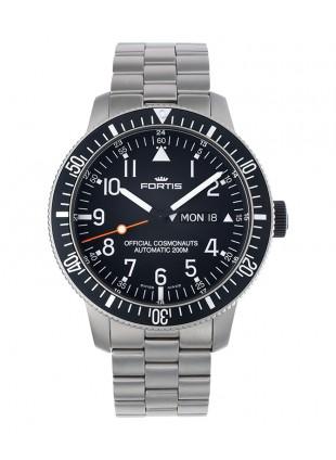 FORTIS Cosmonautis Official Cosmonauts watch Day/Date Titanium case