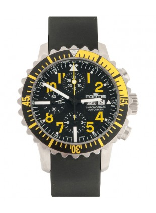 FORTIS Aquatis Marinemaster Chrono 42mm Swiss Auto watch 200m WR 671.24.14 K