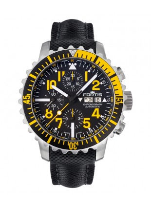 FORTIS Aquatis Marinemaster Chrono 42mm Swiss Auto watch 200m WR