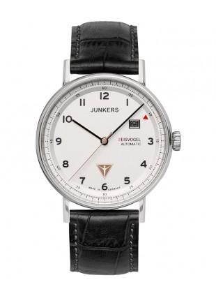 Junkers EISVOGEL F13 Swiss Auto watch 40mm S/S case Sapphire Beige dial 6754-1