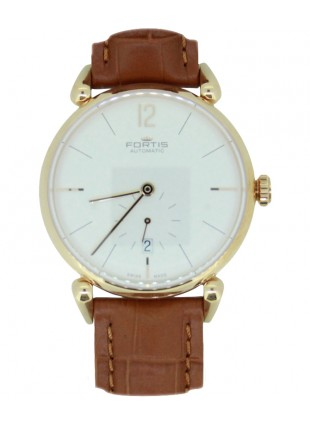 Fortis Terrestis Orchestra AM Classical Auto watch 18K R/Gold case 900.13.32