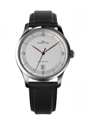 Fortis Terrestis Tycoon Date AM Classical/Modern Automatic Watch 903.21.12 L01