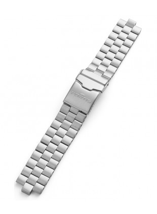 FORTIS B42/F43 Steel bracelet incl. end pieces fully screwed 20mm 99.313.10 M