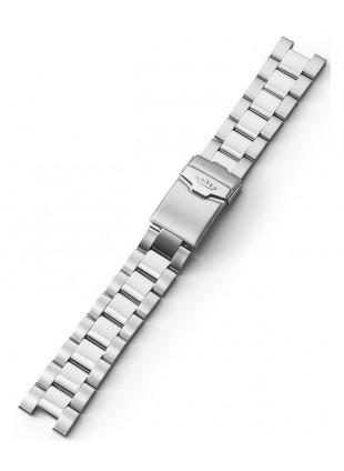 FORTIS Steel Bracelet with end pieces Cosmonaut bicolor Bru/Pol 99.314.21.401 M