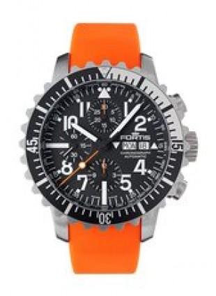 FORTIS Aquatis Marinemaster Chrono Swiss Auto watch 200m WR 671.17.41 Si20