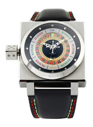 Azimuth King Casino Stainless Steel case