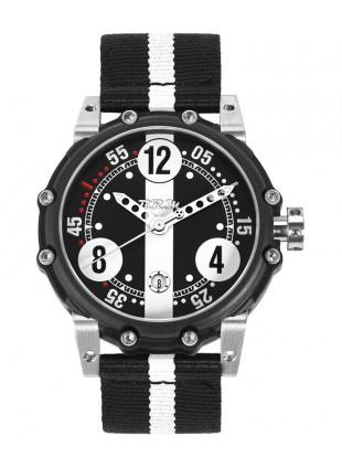 Genuine BRM BT6-46 Auto Watch 2824-2 Movt. 100m WR Black PVD Titanium case