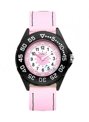 COLORI KIDSWATCH 35MM PINK