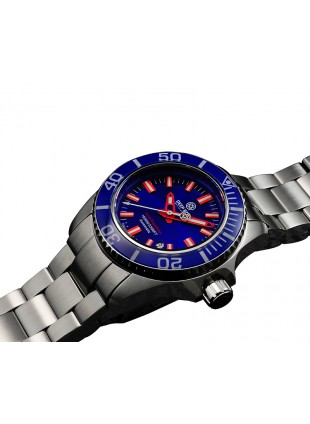 DEEP BLUE 45MM CASE SWISS MADE SAPPHIRE CRYSTAL AQUA EXPEDITION-BLUE DIAL