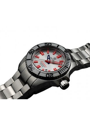 DEEP BLUE 45MM CASE SWISS MADE SAPPHIRE CRYSTAL AQUA EXPEDITION