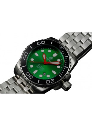 DEEP BLUE 45MM SEA RAM 500 AUTOMATIC 316L STAINLESS STEEL CASE BLACK DIAL