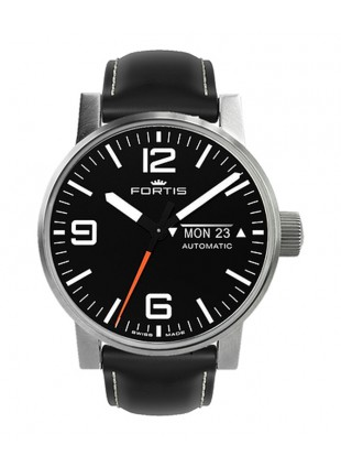 Fortis Cosmonautis SPACEMATIC STEEL 40mm Automatic Swiss ETA watch 623.10.18