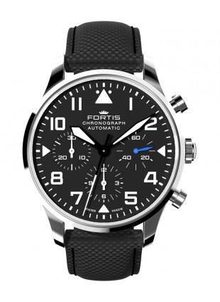 Fortis Aviatis PILOT CLASSIC CHRONOGRAPH 41mm Swiss Automatic watch 904.21.41 LP